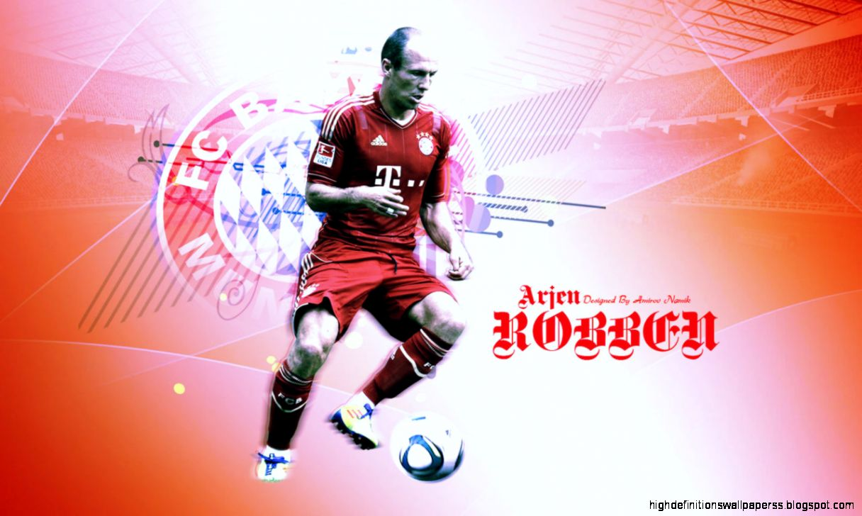Arjen Robben Bayern Munchen Wallpaper Hd Widescreen High Definitions Wallpapers