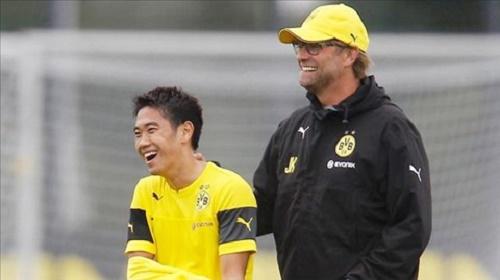Cầu thủ Shinji Kagawa sẽ cống hiến hết mình cho đội tuyển Dortmund trong những mùa giải tiếp theo