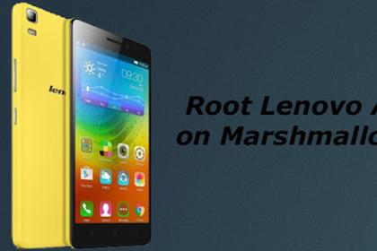 Cara Mudah Root Lenovo A7000 Marshmallow Tanpa PC