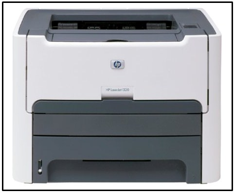 HP LaserJet 1320 Monochrome Laser Printer | Free Drivers & Software Download