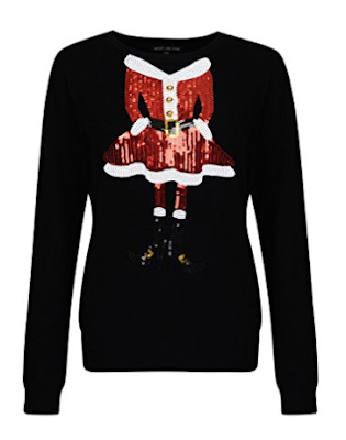 ladies-sequinned-Christmas-jumper