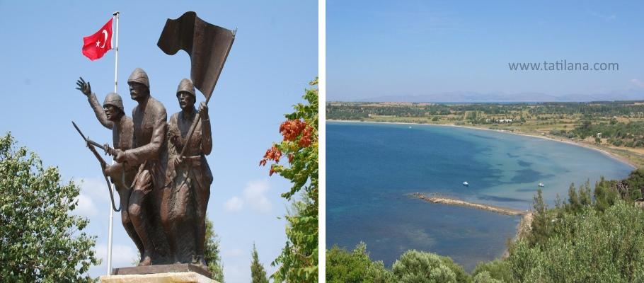 Yahya Çavuş Anıtı ve Morto Koyu