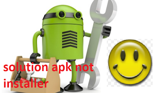 solution apk not installer