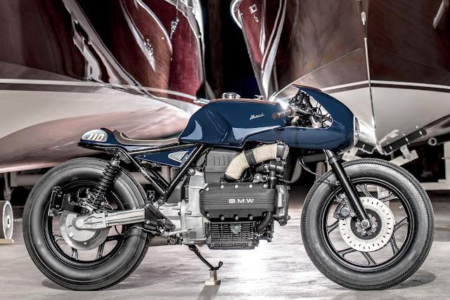 BMW Build Sheet >> Boesch 100 - VTR Customs BMW K100 | Return of the Cafe Racers