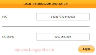tes simulasi percobaan CAT online menpan BKN