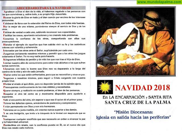 Programa de Navidad 2018 Parroquia de La Encarnación de Santa Cruz de La Palma