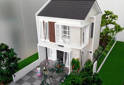 Desain Rumah ORCHID 5, 70/160 Citra Indah City
