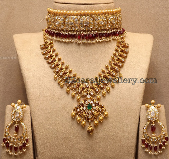 Choker and Necklace Chandbalis