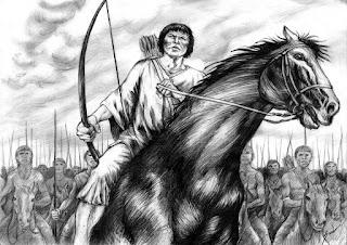 Sepé Tiaraju lidera os índios guaranis