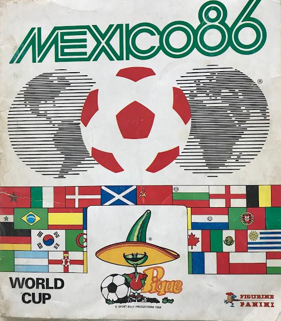 Album Copertina Messico '86