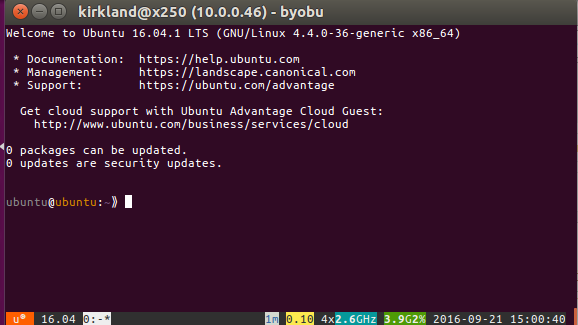From the Canyon Edge: HOWTO: Launch an Ubuntu Cloud Image with KVM