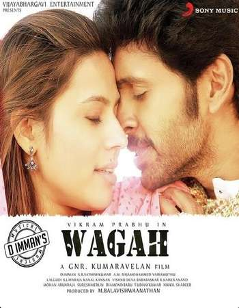 Poster Of Wagah 2016 Hindi Dual Audio 170MB UNCUT HDRip HEVC Mobile ESubs Free Download Watch Online downloadhub.net