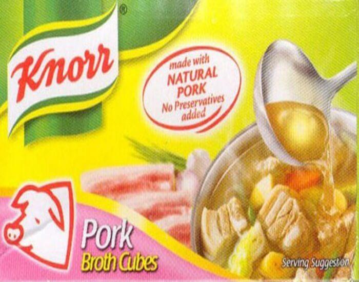 Pati Kiub Knorr Pork