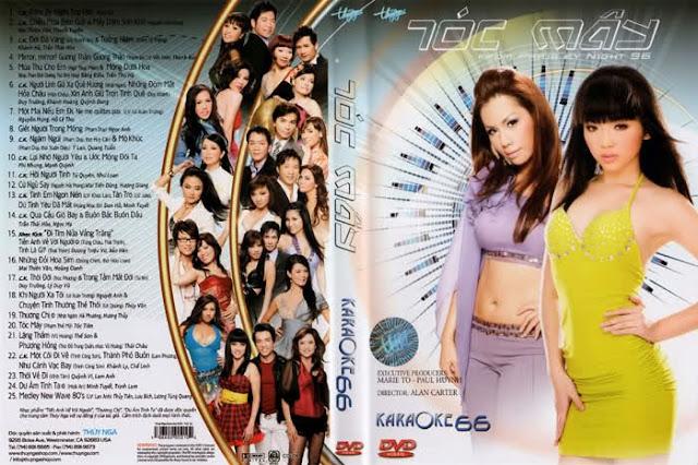 PBN Karaoke 66: Tóc Mây (DVD9)