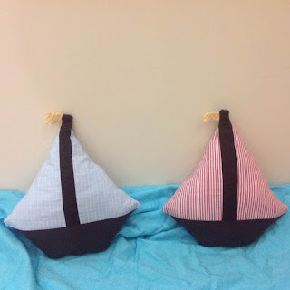 sailboat pillow tutorial and pattern