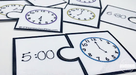 telling time puzzle