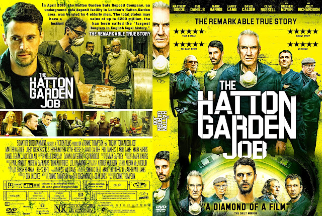 The Hatton Garden Job DVD Cover