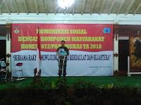 Gelar Komsos, Korem 072 Diminta Tulis Ulang Sejarah Diponegoro
