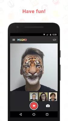 msqrd mascara tigre