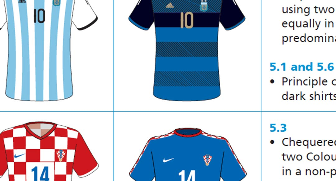 75bd8bb85fd4a2 In Detail - FIFA s 2018 World Cup Kit Rules Are Immense - Footy ...