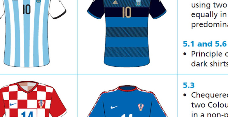 4d5974ab4 In Detail - FIFA's 2018 World Cup Kit Rules Are Immense