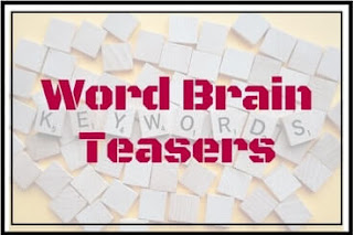 Word Brain Teasers