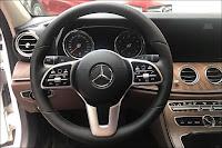 Vô lăng mới trên Mercedes E200 2019