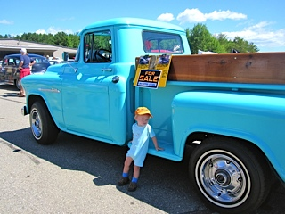 grandson and truck: LadyD Books