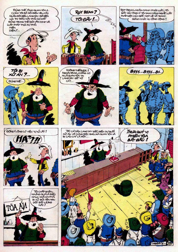 Lucky Luke tập 21 - sợi dây biết hát trang 42