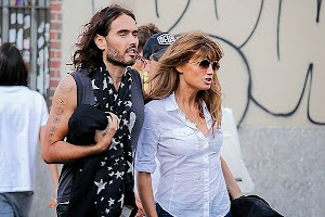 Russell Brand has changed Jemima Khan with a model?