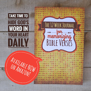The 12 Week Journal for Memorizing Bible Verses by 123 Journal It Publishing