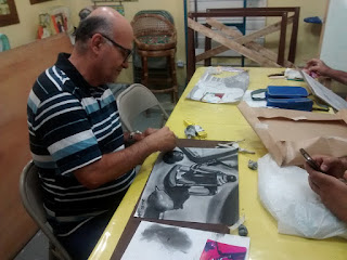 Curso de desenho com Cícera Dias