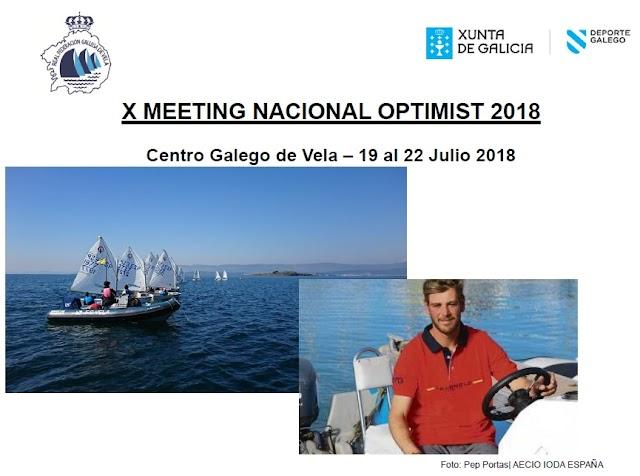 Abierto el plazo de inscripción del X Meeting de Optimist