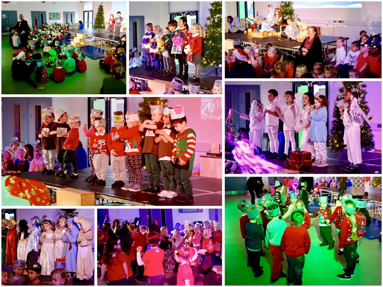Hacton News: Early Years: Here We Go Round The Christmas Tree