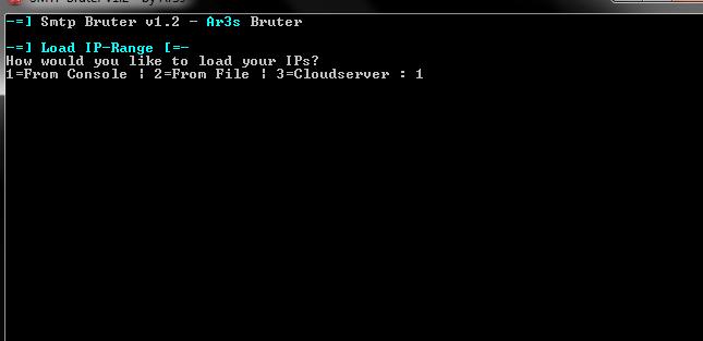 Smtp Brute Force Scanner