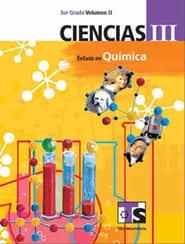 Ciencias III Énfasis en Química Volumen II Libro para el Alumno Tercer grado 2018-2019 Telesecundaria