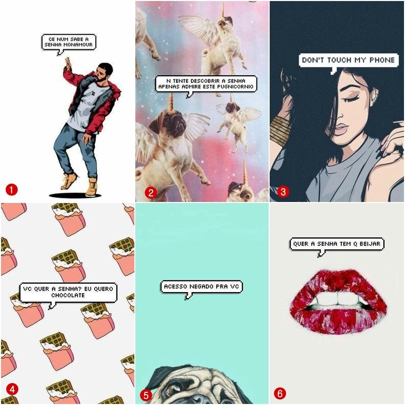 Conhecido Wallpaper de celular para quem quer sua senha - Natalia Antuano EE89