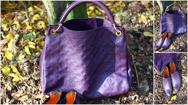 Louis Vuitton Artsy Empriente violett
