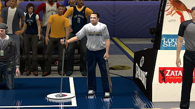NBA 2K13 New Orleans Pelicans Janitor Fix