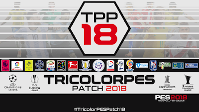 TricolorPES Patch 2018 Season 2017/2018
