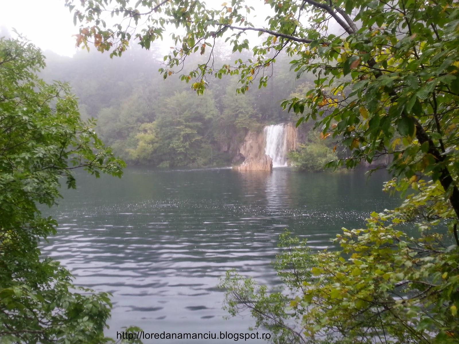 Amazing natural park Plitvice