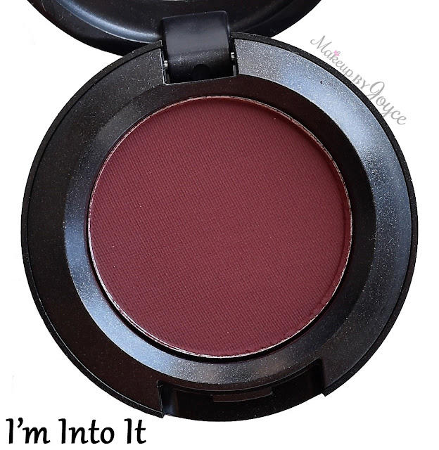 MAC Bangin' Brilliant I'm Into It Eyeshadow Review
