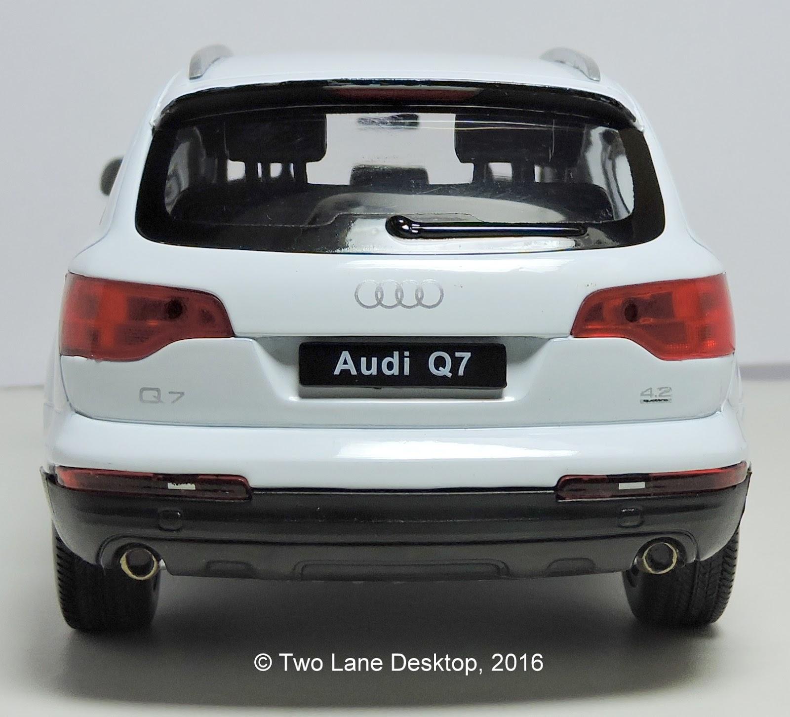 Two Lane Desktop: Welly 1:24 Audi's Part 3: 2005 Audi Q7 SUV