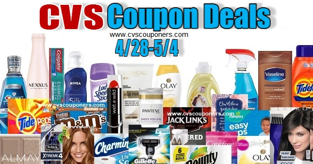 CVS Couponers Deals & Freebies- 4/28-5/4
