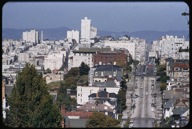 Fotografías antiguas de San Francisco a color