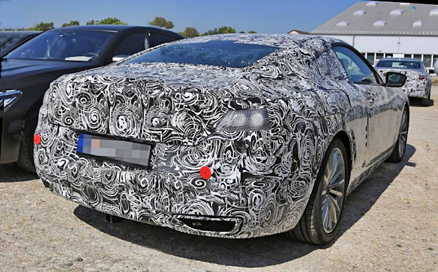 New BMW 8-Series Coupe and Convertible spy shots 2020