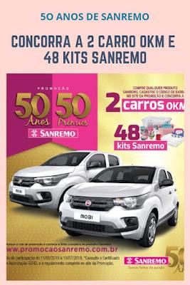 Promoção 50 anos 50 prêmios Sanremo   Blog Top da Promoção #topdapromocao @topdapromocao #Sanremo