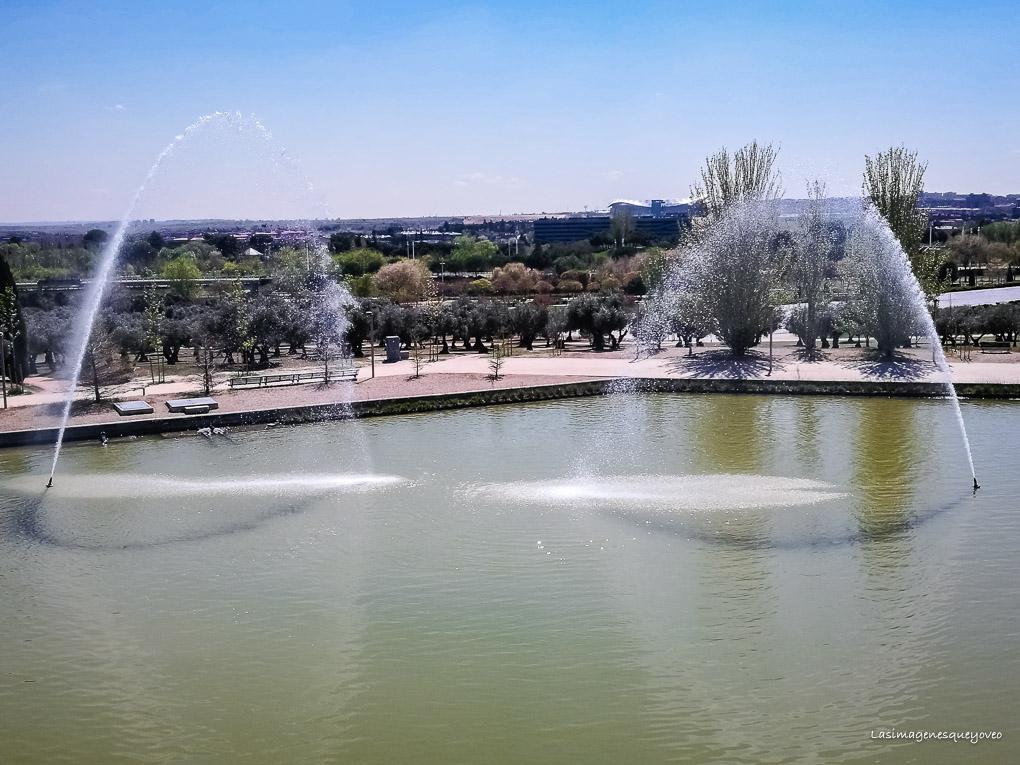 Estufa Fría del parque Juan Carlos I