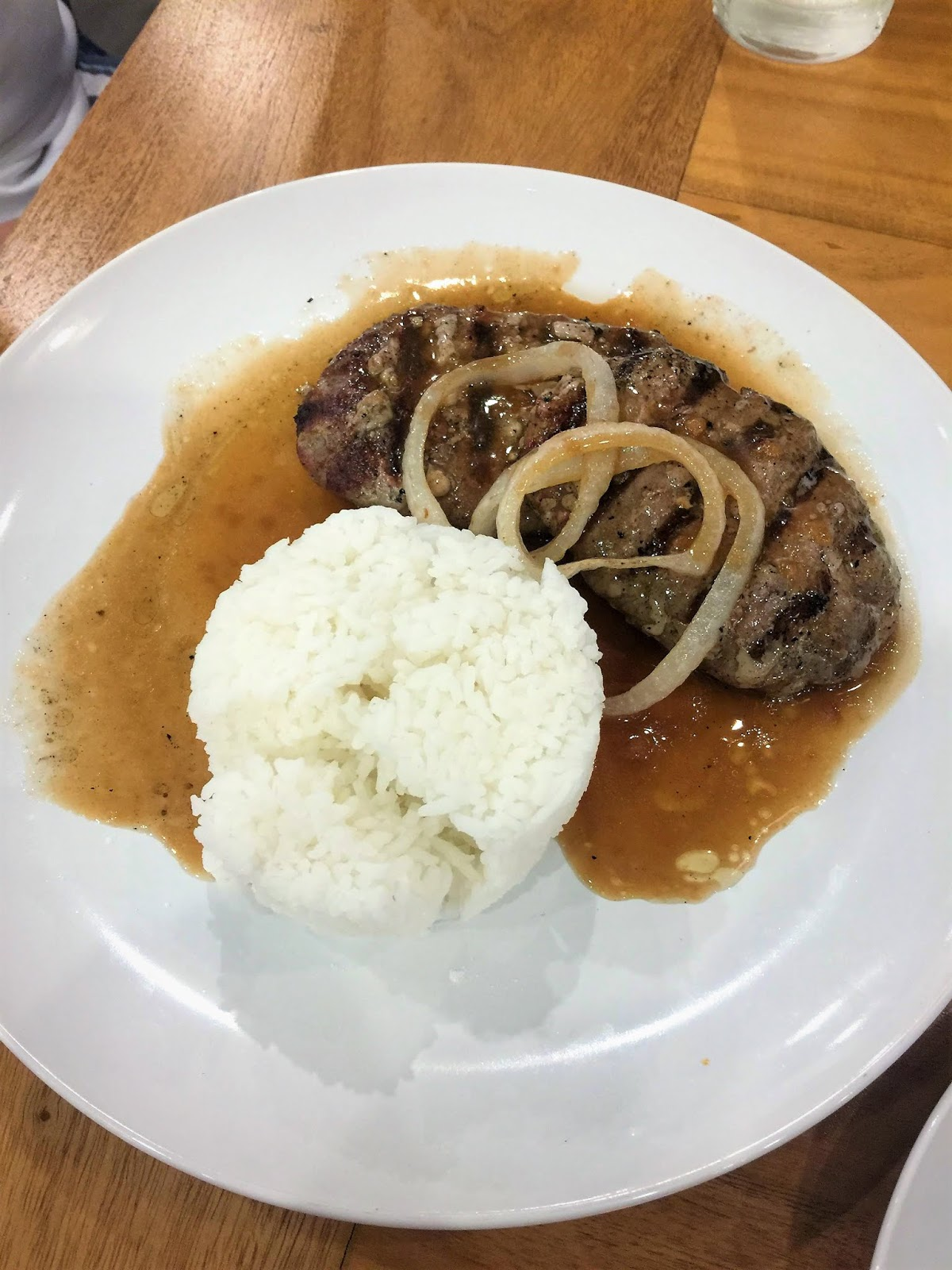 Roberto's Salisbury Steak in SM Marikina