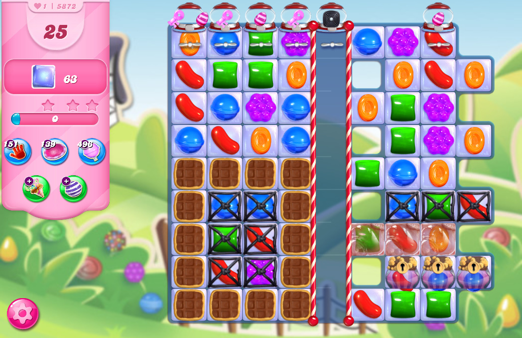 Candy Crush Saga level 5872
